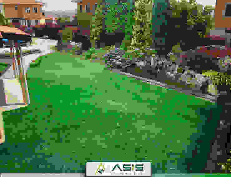 Sultan Konakları Villa Projesi Tasarımı Ve Uygulaması Modern Bahçe asis mimarlık peyzaj inşaat a.ş. Modern