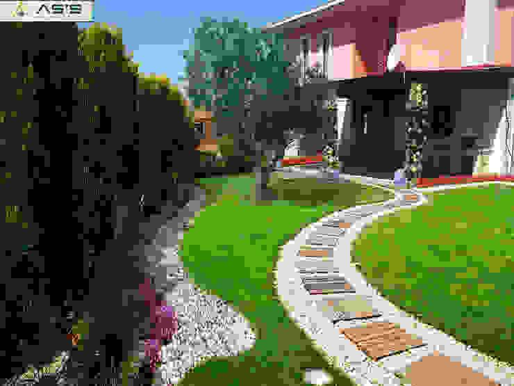 asis mimarlık peyzaj inşaat a.ş. Modern style gardens