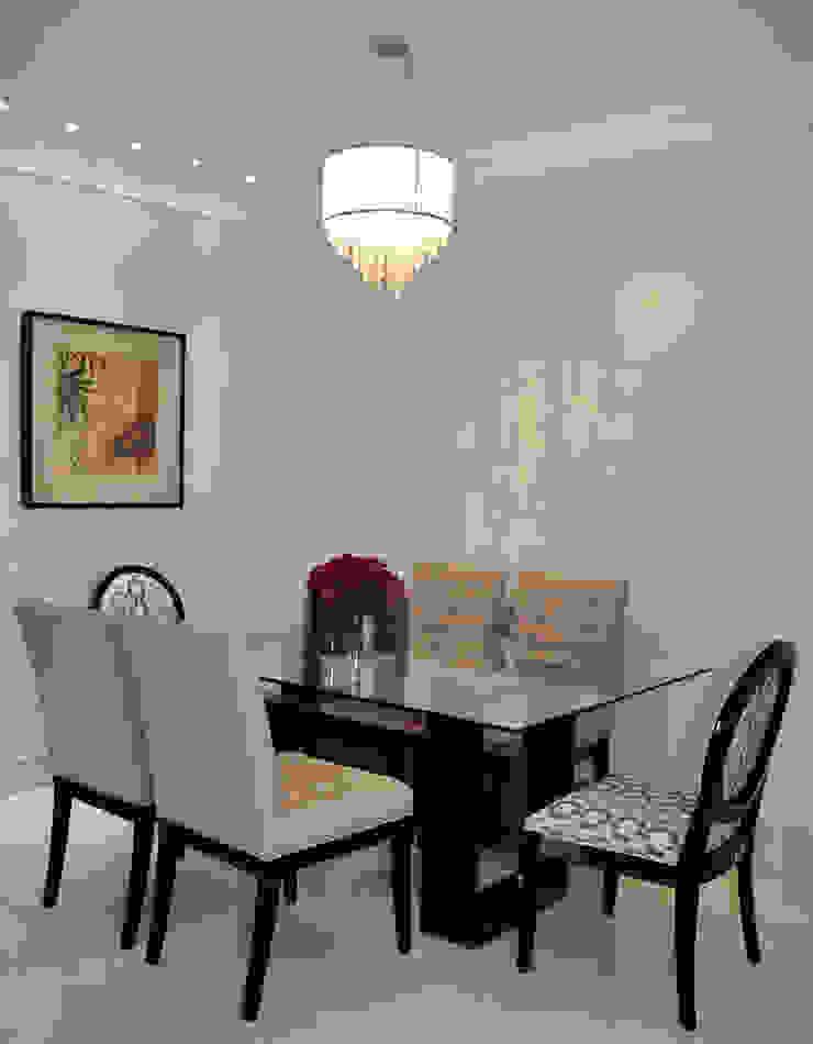 Apartamento em Machacalis 1 Salas de jantar ecléticas por Lívia Bonfim Designer de Interiores Eclético