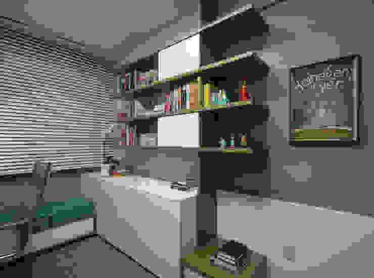 HOME OFFICE 01 por Pura!Arquitetura Moderno