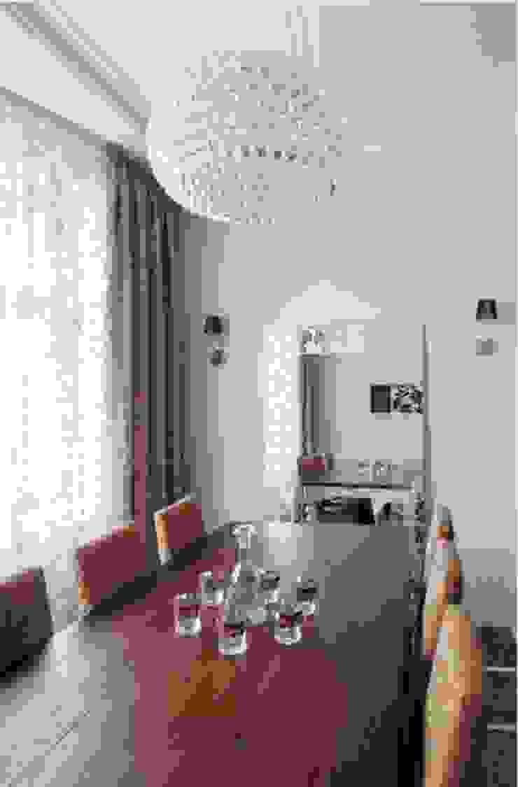ЖК <q>Белый лебедь</q> Кухня в классическом стиле от White & Black Design Studio Классический