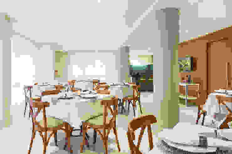 Pura!Arquitetura Gastronomía de estilo minimalista