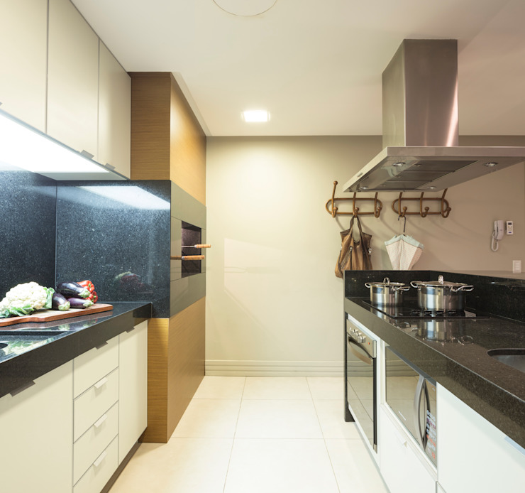 SALÃO DE FESTAS DE CONDOMÍNIO Espaços gastronômicos minimalistas por Pura!Arquitetura Minimalista