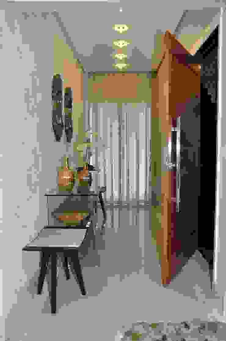 Apartamento Machacalis 2 Corredores, halls e escadas modernos por Lívia Bonfim Designer de Interiores Moderno