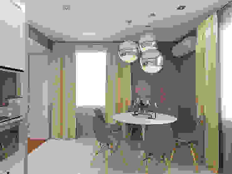 Дизайн загородного дома Кухня в стиле модерн от White & Black Design Studio Модерн