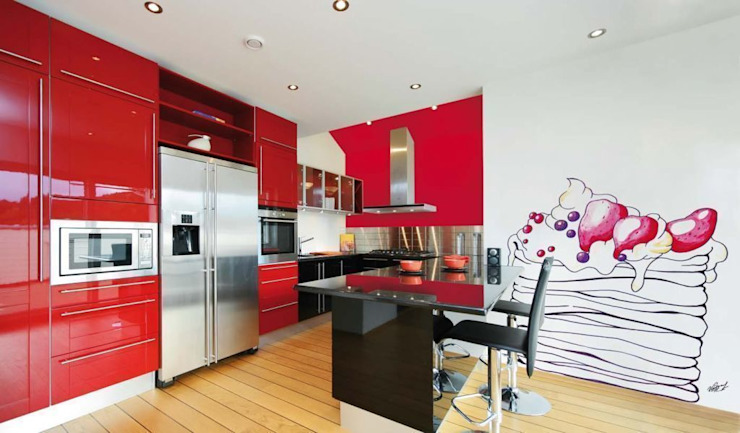 Modern kitchen by Barcelona Pintores.es Modern