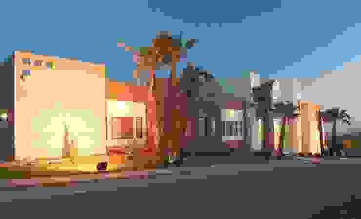 Vista de Fachada principal Casas modernas de Acrópolis Arquitectura Moderno
