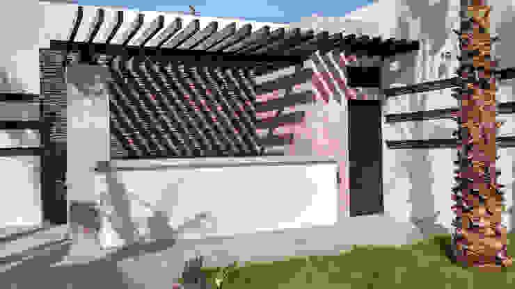 Vista de asador Jardines modernos de Acrópolis Arquitectura Moderno