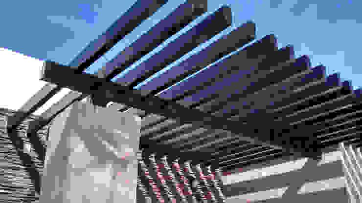 Pergolado Jardines modernos de Acrópolis Arquitectura Moderno