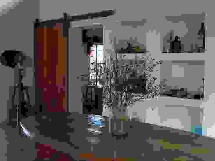 Sala de jantar por Ronald Ingber Arquitetura Rústico