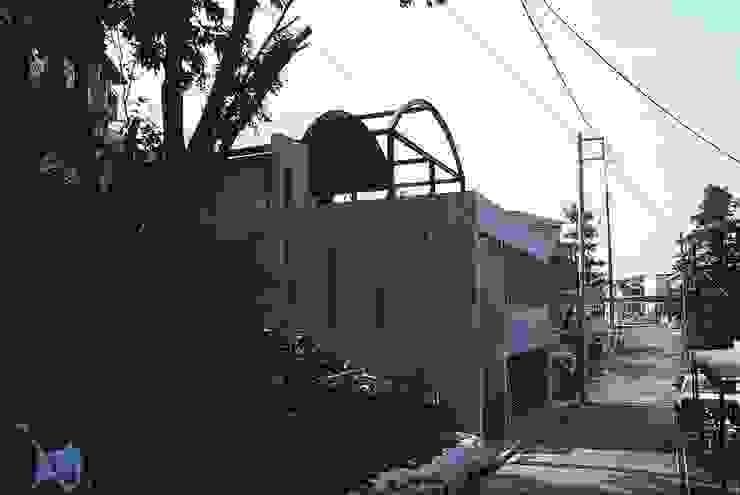 外観 オリジナルな 家 の 桑原建築設計室 オリジナル