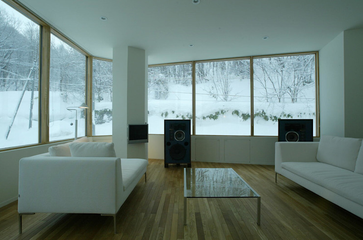 居間: キタウラ設計室が手掛けたリビングです。,オリジナル