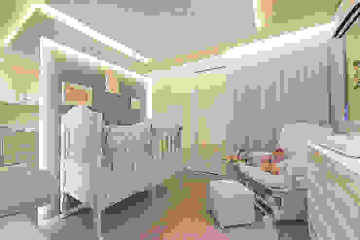 Quarto de Bebê LM Arquitetura Quarto infantil clássico