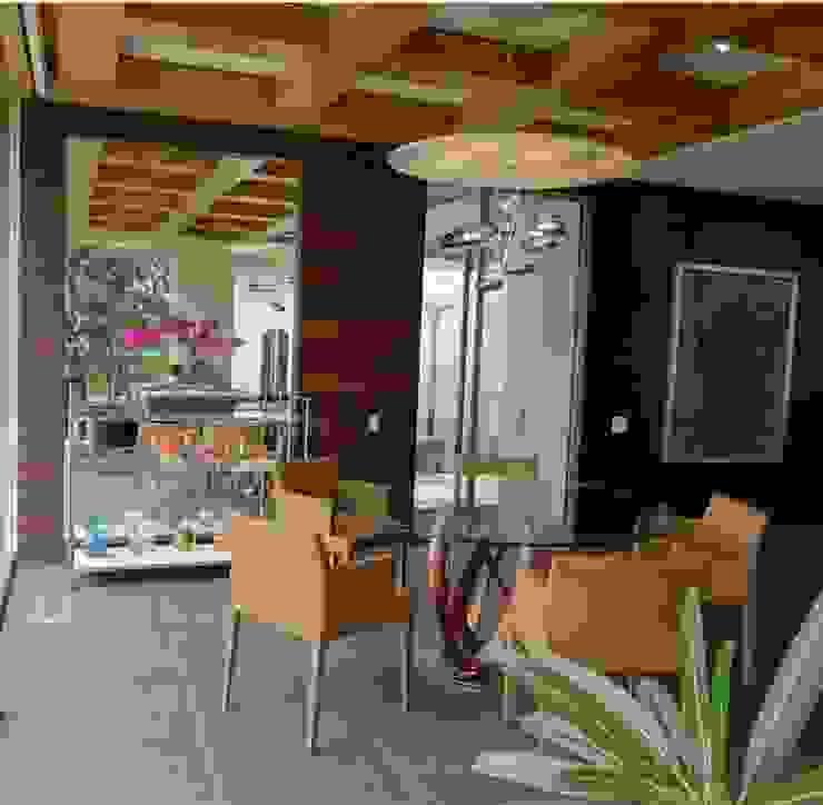 Residencia Bosque de Olivos Comedores modernos de Iluminarq Moderno