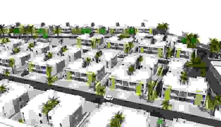 VILLA ADALUZ Casas minimalistas de AG ARQUITECTURA Minimalista