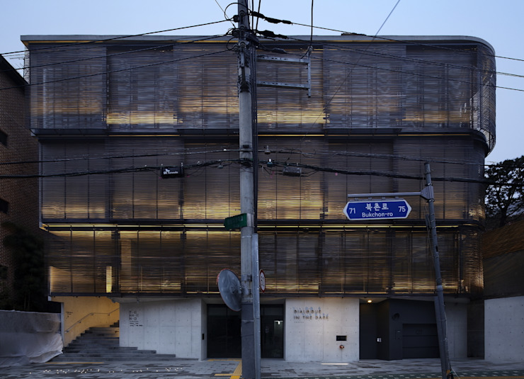 Front Facade: WISE Architecture의 아시아틱 ,한옥