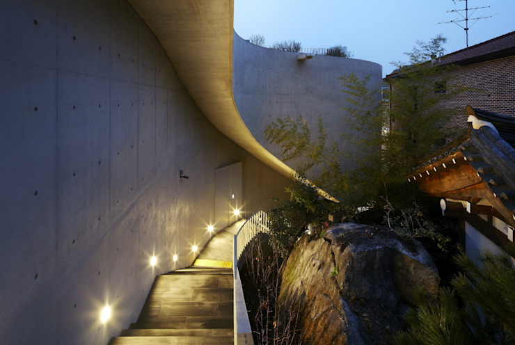 Rear outer space: WISE Architecture의 아시아틱 ,한옥