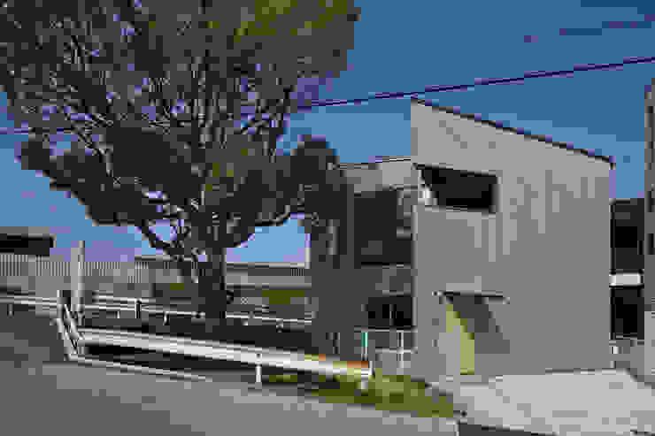 南東からの外観 オリジナルな 家 の 宮武淳夫建築+アルファ設計 オリジナル
