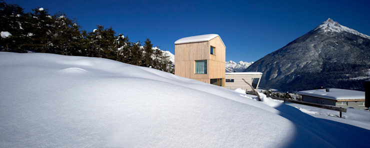 Einfamilienhaus Bout von Madritsch*Pfurtscheller Minimalistisch