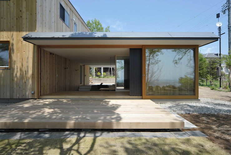 Maisons modernes par エヌ スケッチ Moderne