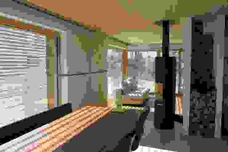 Neubau Einfamilienhaus als Passivhaus ANB Architekten AG Moderne Esszimmer