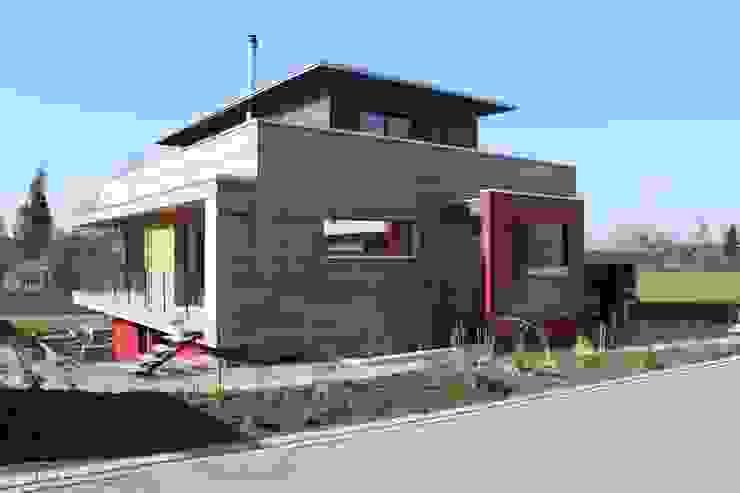 Neubau Einfamilienhaus als Passivhaus Moderne Häuser von ANB Architekten AG Modern