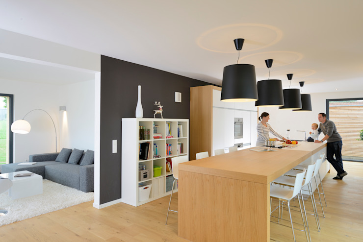 Kitchen by Bau-Fritz GmbH & Co. KG, Modern