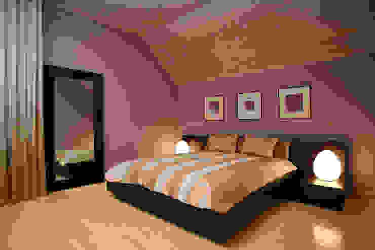 Спальня Спальня в стиле модерн от Inter-Decore Модерн