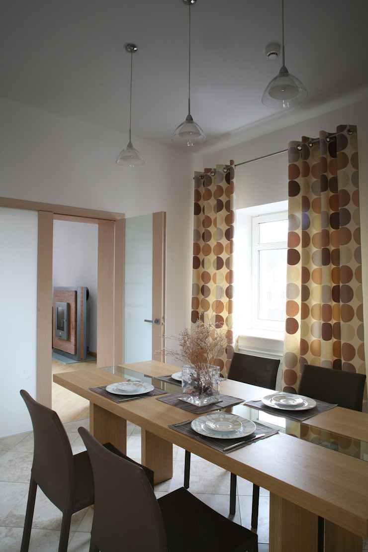 Столовая Столовая комната в стиле модерн от Inter-Decore Модерн