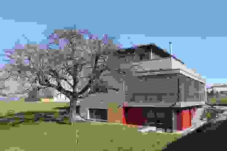 Neubau Einfamilienhaus als Passivhaus ANB Architekten AG Moderne Häuser