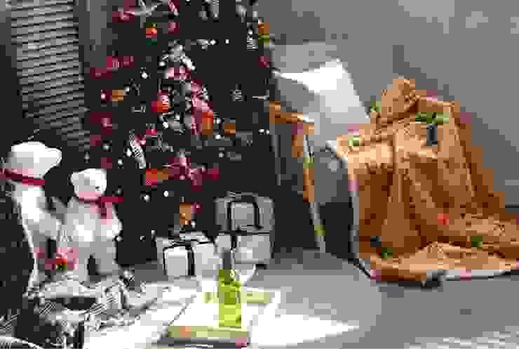 감성 담은 크리스마스 담요 캠핑플라 침실직물