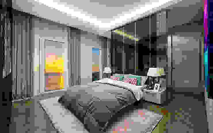ORANIO Modern Yatak Odası Voltaj Tasarım Modern