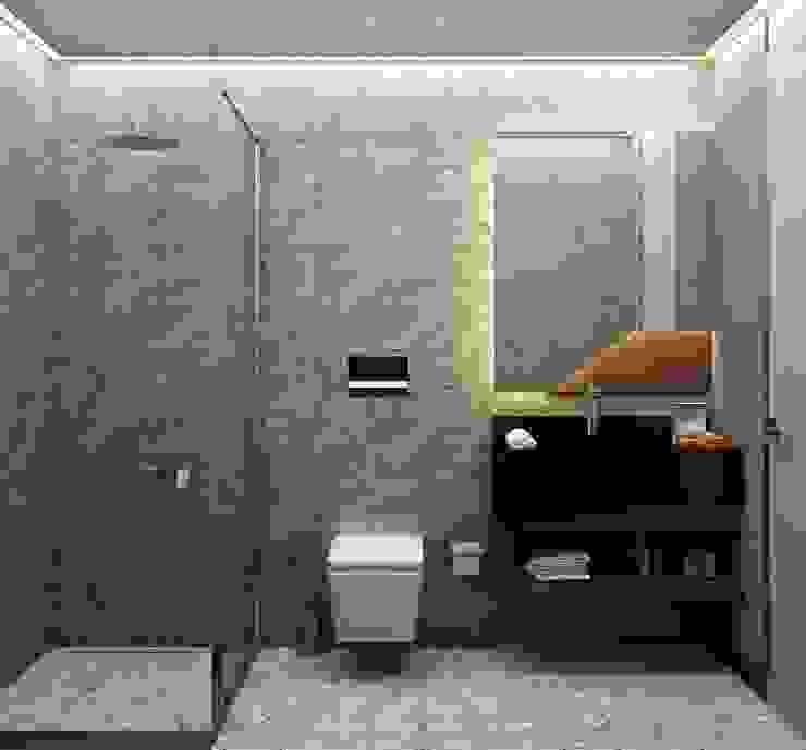 Baños de estilo  por Voltaj Tasarım , Minimalista
