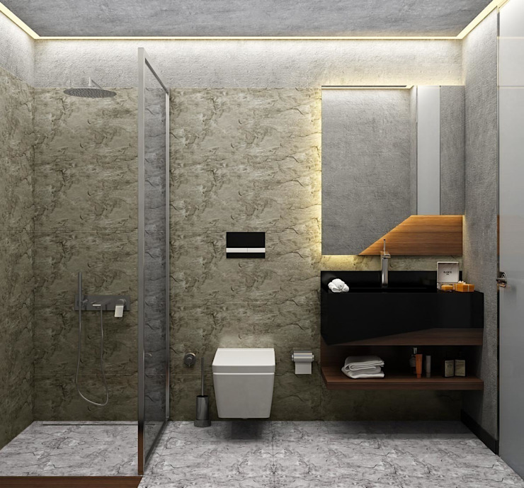 Bathroom by Voltaj Tasarım,