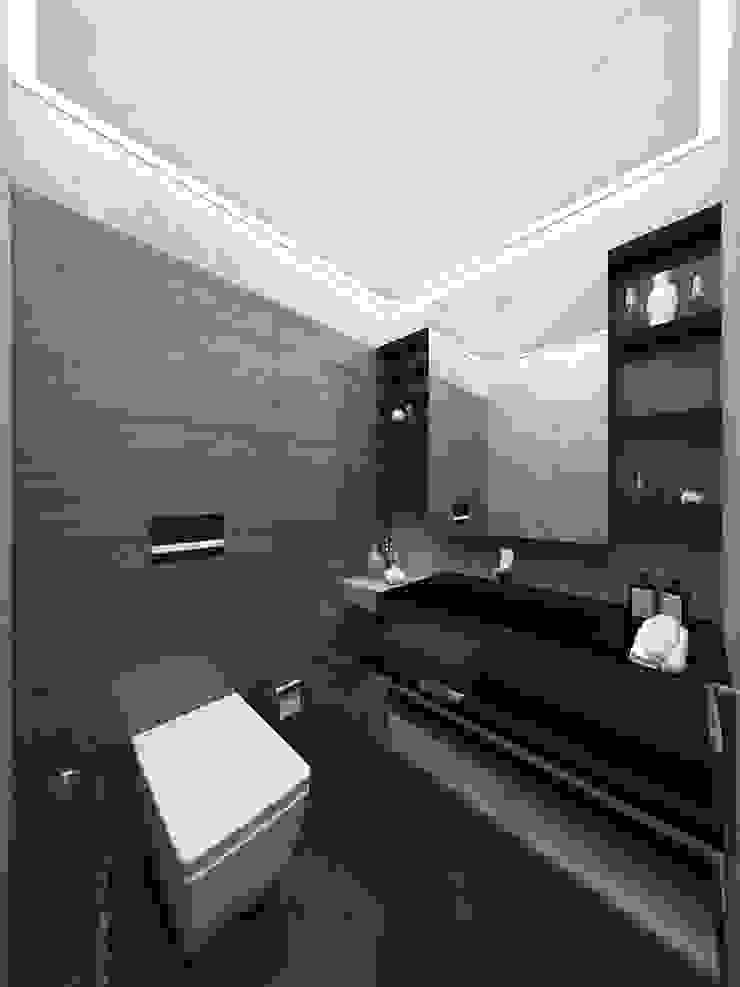 Phòng tắm phong cách hiện đại bởi Voltaj Tasarım Hiện đại