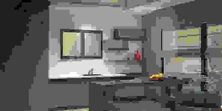 Nhà bếp phong cách hiện đại bởi Voltaj Tasarım Hiện đại