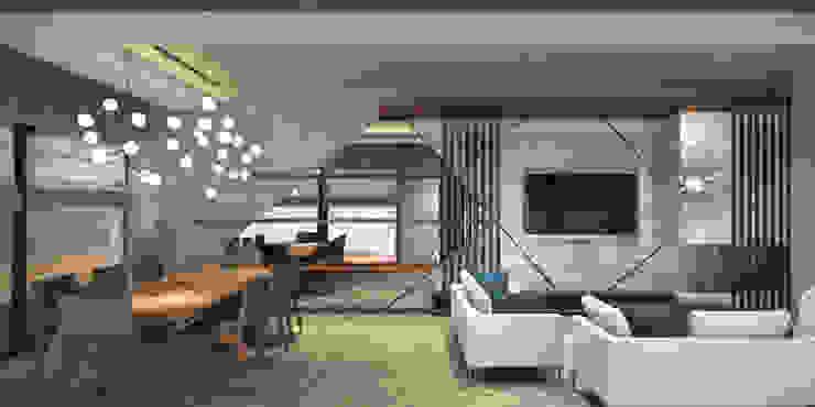 ORANIO Modern Oturma Odası Voltaj Tasarım Modern