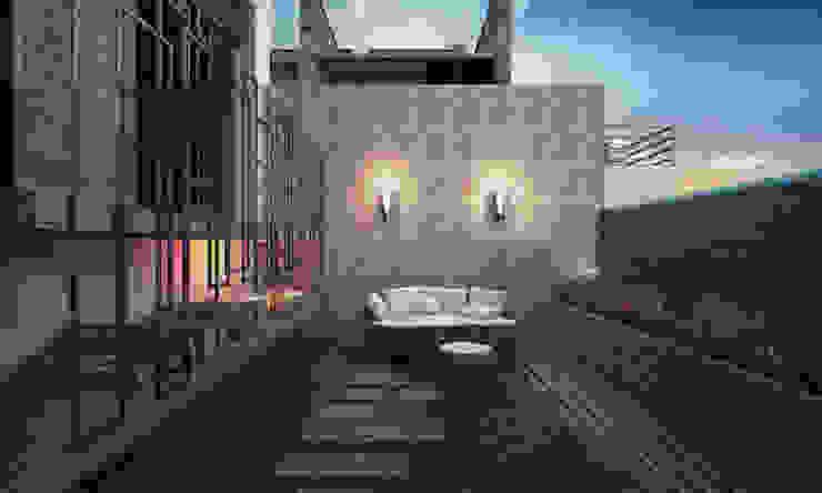 Modern style gardens by Voltaj Tasarım Modern