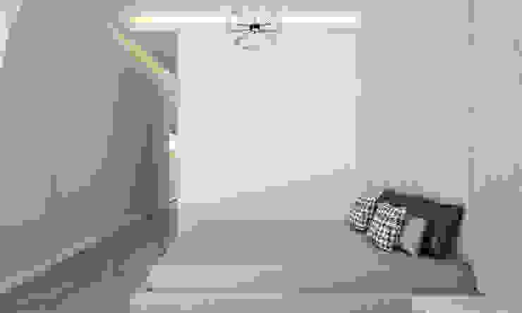Voltaj Tasarım – AA EVİ:  tarz Yatak Odası, Minimalist