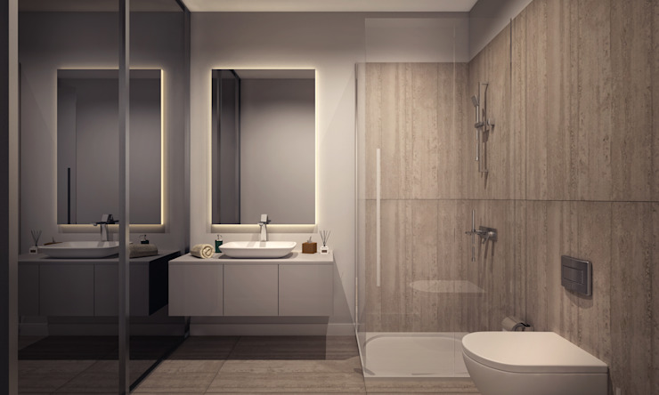 Bathroom by Voltaj Tasarım