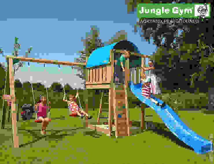 Jungle Gym Villa 2-Swing X'tra: modern  door Jungle Gym, Modern