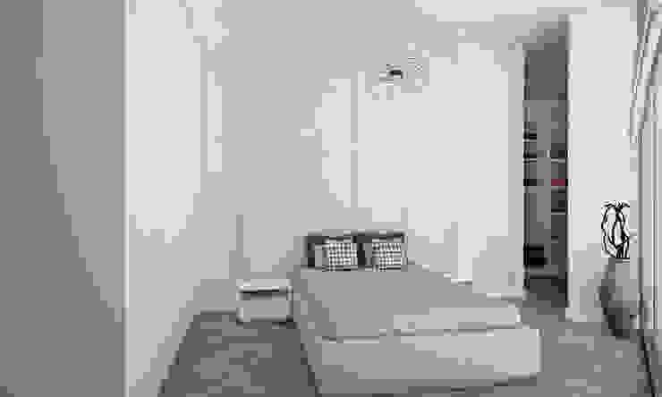 Minimalist bedroom by Voltaj Tasarım Minimalist