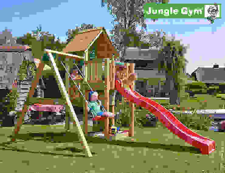 Jungle Gym Cubby 1-Swing X'tra van Jungle Gym Klassiek