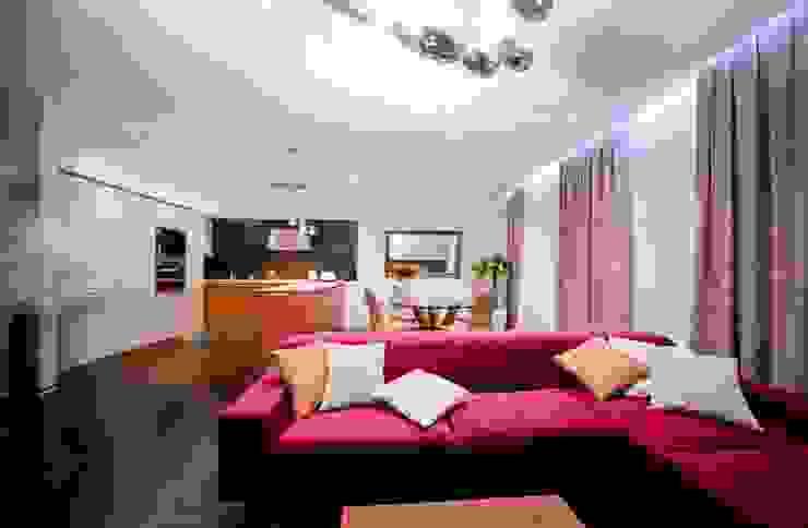 City Oasis - таунхаус в Куркино Nr.1 Гостиные в эклектичном стиле от ODS Laboratory Architecture & Design Эклектичный