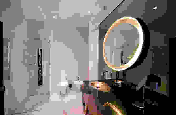 City Oasis – таунхаус в Куркино Nr.1 Ванная комната в эклектичном стиле от ODS Laboratory Architecture & Design Эклектичный