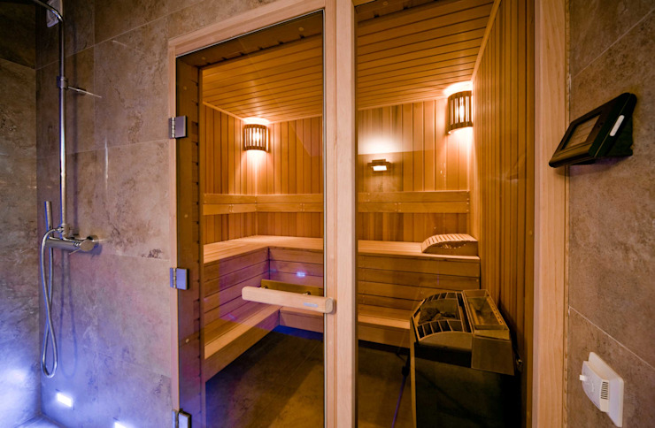 ODS Laboratory Architecture & Design Eclectic style spa
