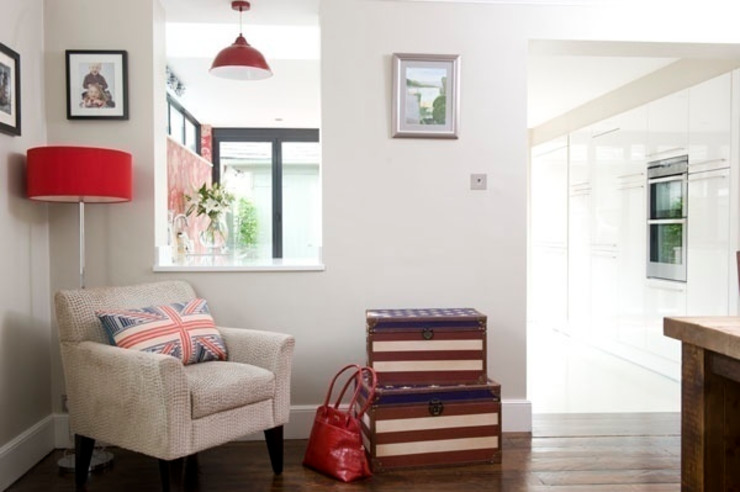 Victorian Townhouse Etons of Bath Modern living room