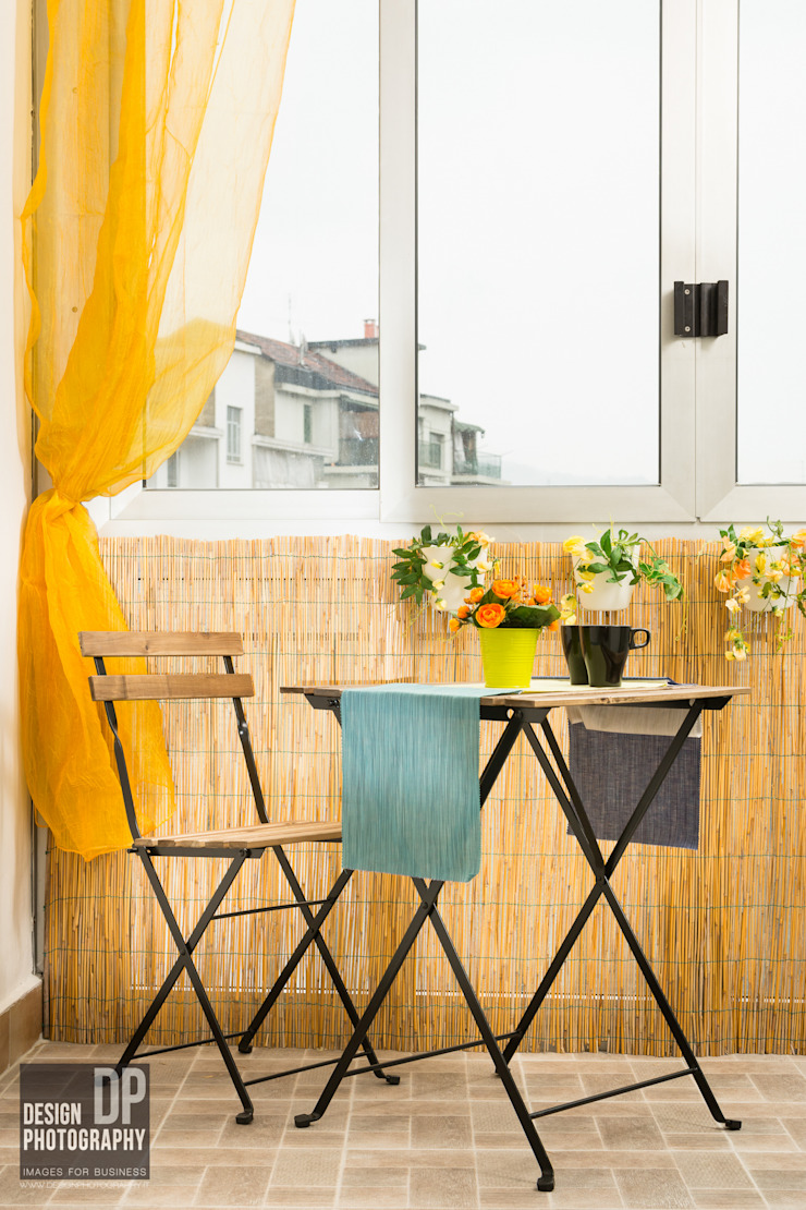 Design Photography Modern style balcony, porch & terrace
