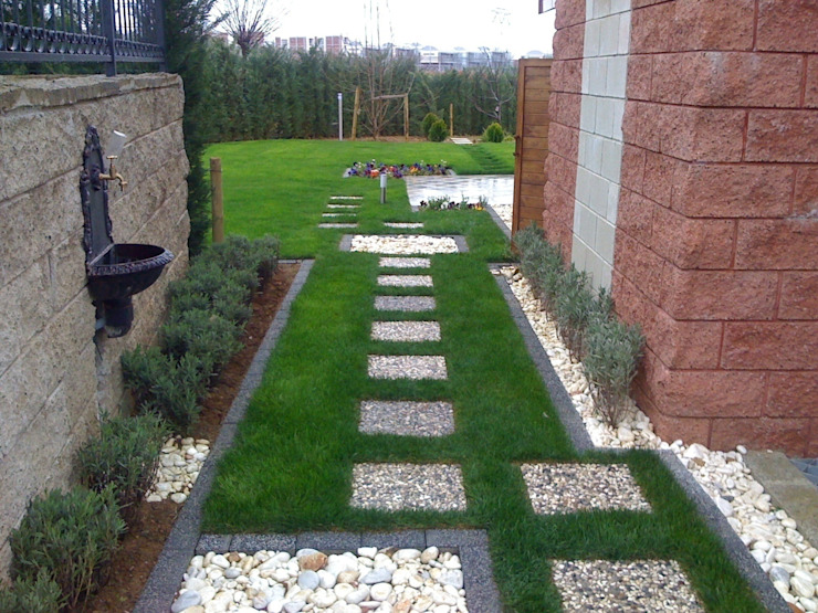 GREENLİNE PEYZAJ Jardin moderne