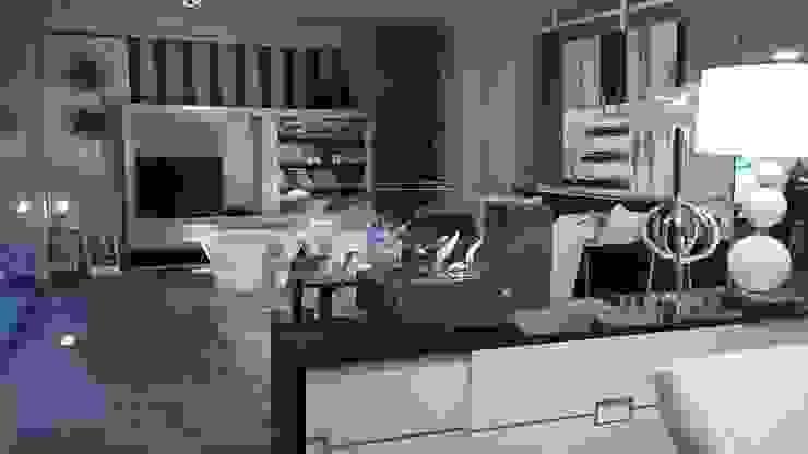 SALON ELEGANTE Salas modernas de BONSAI S.L Moderno